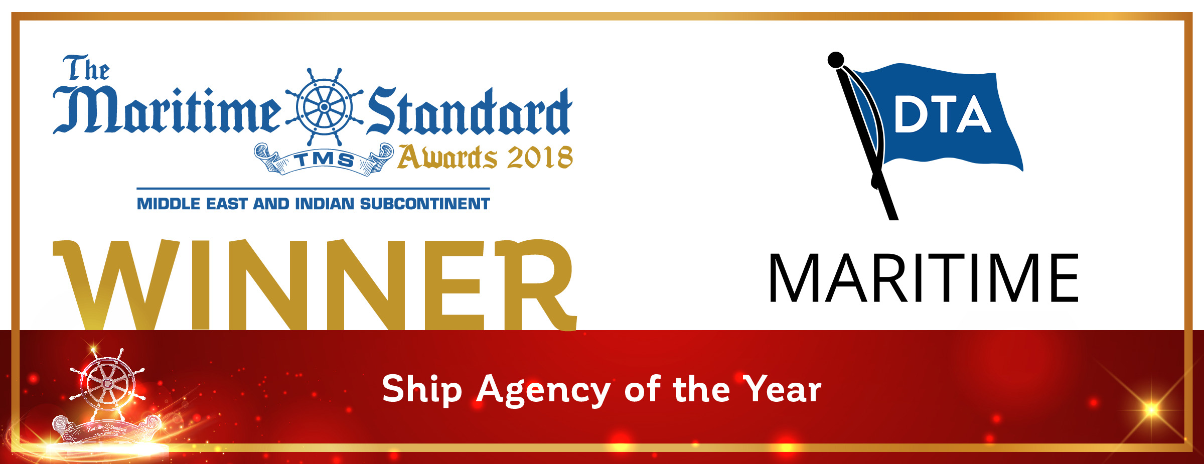 DTA Maritime Wins 'Ship Agency of the Year' At The 2018
